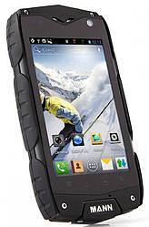 Ударопрочный телефон MANN ZUG 3 A18 black IP68 Quad-Core 1/4Gb 8Mp