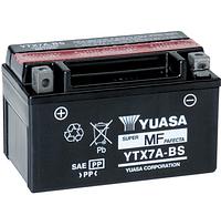 Аккумулятор АКБ 12в 7А/ч пастовый Yuasa (YTX7A-BC)