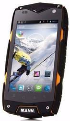 Ударопрочный телефон MANN ZUG 3 A18 black-yellow IP68 Quad-Core 1/4Gb 8Mp