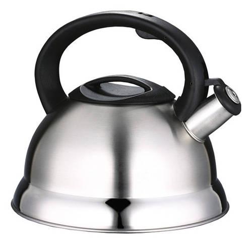 Чайник Kamille 2.7л из нержавеющей стали со свистком