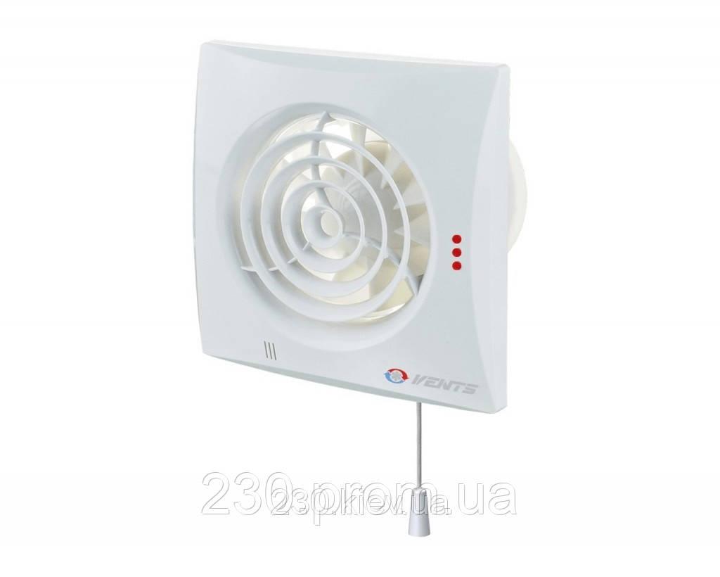 Вентилятор вентс 125 квайт В с выключателем
