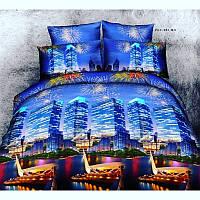 """Комплект постельного белья ТМ """"Ловец снов"""", Ночной город"""