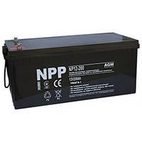Аккумулятор 12В 200Ач NP12-200 (NPP)