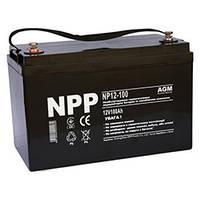 Аккумулятор 12В 100Ач NP12-100 (NPP)