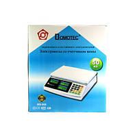 Торговые электронные весы до 50 кг Domotec MS-968