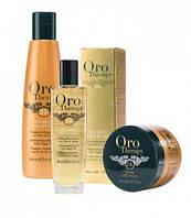 ORO THERAPY«Золотая терапия» -  уникальный ритуал для красоты Ваших волос.