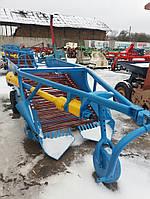 Картофелекопатель прицепной двухрядный транспортер (б/у)