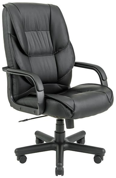 Кресло Фокси пластик механизм Tilt подлокотники с мягкими накладками, экокожа Флай-2230 (Richman ТМ)