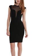 Черное бандажное платье Herve Leger, фото 1