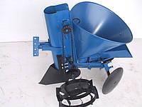 Картофелесажалка КСМ - 1 (EXPERT) с бункером для удобрений и посадкой чеснока
