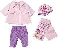 Детский набор осенней одежды для куклы 43 см Baby Born Zapf Creation 820742