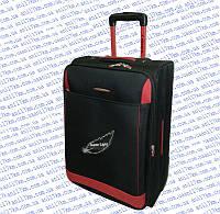 Средний супер лёгкий чемодан на двух колёсах фирмы DECENT