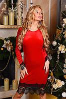Платье женское из бархат-велюра (цвета) А9002