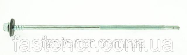 Саморез для сэндвич-панелей 5,5/6,3х175 с шайбой EPDM, сверл. 3,0-12,0 мм, упак-100 шт, ESSVE (Швеция)