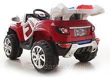 Детский Электромобиль Джип Rage Rover 1428 красный, амортизаторы, на радиоуправлении, фото 2