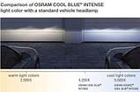 """Автомобильные галогенные лампы """"OSRAM"""" (H16)(Cool Blue intense)(3700K)(+20%), фото 6"""
