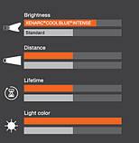 """Автомобильные галогенные лампы """"OSRAM"""" (H16)(Cool Blue intense)(3700K)(+20%), фото 8"""