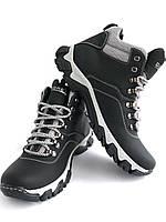 Мужские зимние кожаные ботинки GORETEX