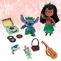 Игровой набор Лило и Стич Disney Animators' Collection Lilo & Stitch Mini Doll Play Set