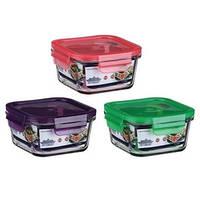 Емкость для хранения продуктов peterhof ph-10084-pr 400 мл с крышкой фиолетовая