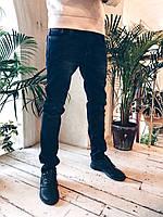 Джинсы мужские на флисе 2649 мужская одежда стильные брюки джинсы шорты