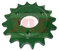 Звездочка z16 молотильного барабана комбайна John Deere - 16 зубов, d36мм