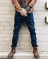 Джинсы мужские на флисе SuperLapp 40411  мужская одежда стильные брюки джинсы шорты