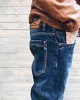 Джинсы мужские на флисе Fangsida 1047  мужская одежда стильные брюки джинсы шорты