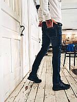 Джинсы мужские на флисе  2653 мужская одежда стильные брюки джинсы шорты