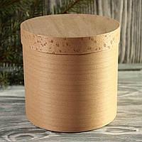 Коробка подарочная из букового шпона 1800 (120*120 мм)