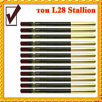 Карандаш для Губ и Глаз, цвет Stallion Ивово- Коричневый Матовый, Косметические Adoro L28, Оптом