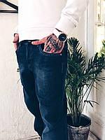 Джинсы мужские на флисе Fangsida 0023 мужская одежда стильные брюки джинсы шорты