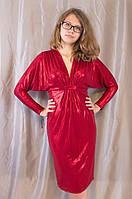 """Элегантное женское нарядное вечернее платье """"Летучая мышь"""""""