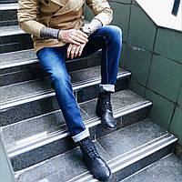 Джинсы Ritter мужские на байке 0053  мужская одежда стильные брюки джинсы шорты