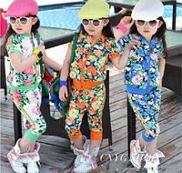 Костюмчик для девочки с цветами, фото 1