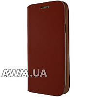 Чехол книжка для Samsung Galaxy S3 (i9300) коричневая