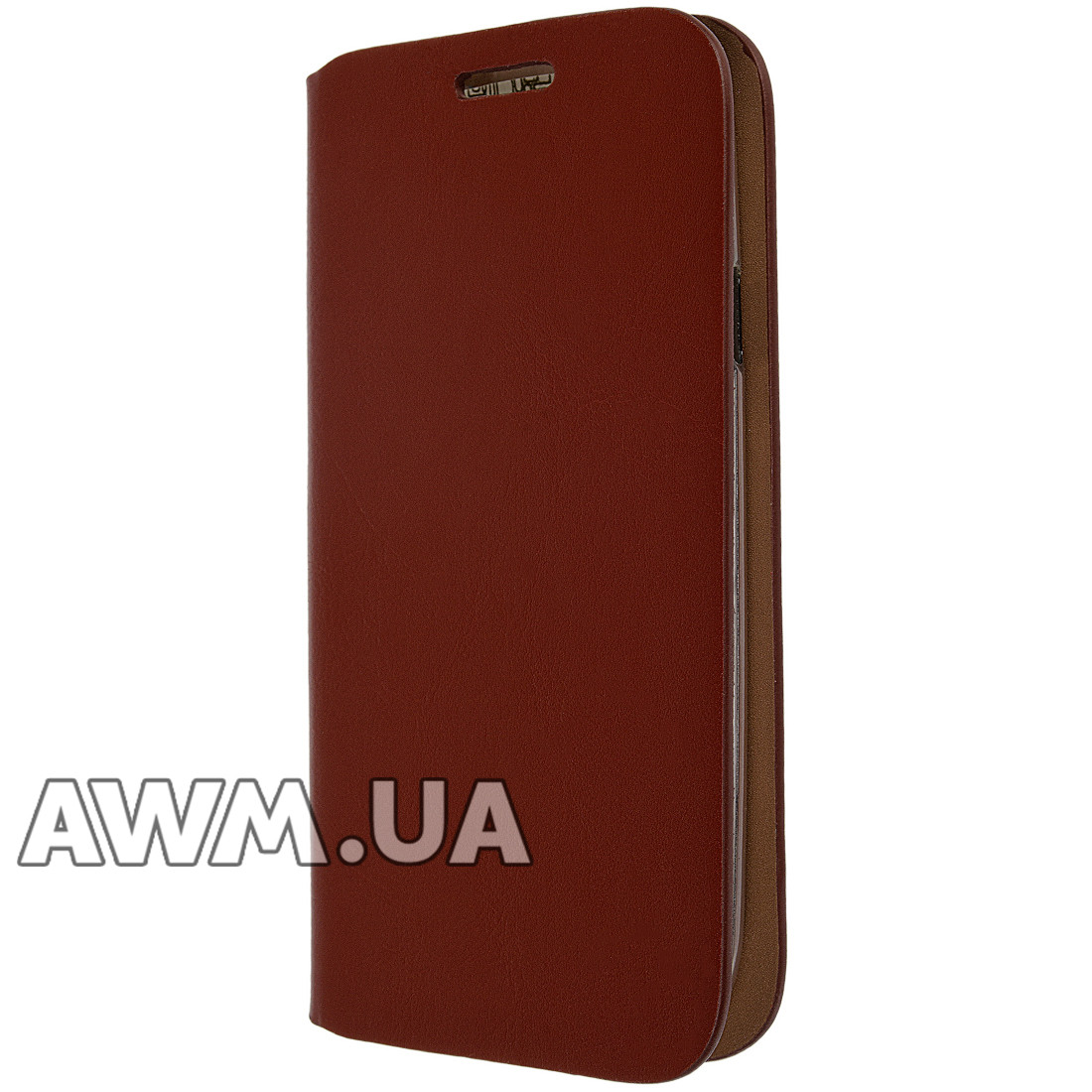 Чехол книжка для Samsung Galaxy S3 (i9300) коричневая - AWM в Одессе