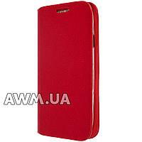 Чехол книжка для Samsung Galaxy S3 (i9300) красная