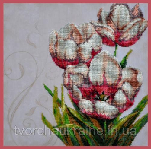 Набор для вышивания бисером Цветочный винтаж - 3