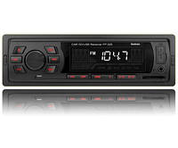 Автомагнитола Fantom FP-325 USB/SD 1 Din  Black/Red