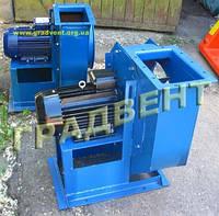 Вентилятор пылевой ВРП-5 (ВЦП 5-45, ВРП 100-45 №5) с электродвигателем 4,0 кВт, 1500 об/мин
