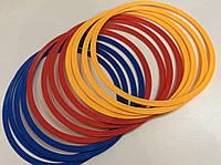 Кольца тренировочные 12 шт. пластик диам. 40 см., фото 1