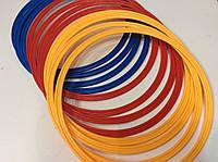 Кольца тренировочные для футбола 12 шт. пластик диам. 40 см., фото 1