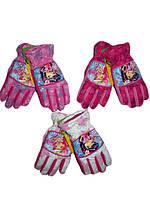 Перчатки Strawberry для девочек, размеры 3/4, лет, арт. 800-008,800-009