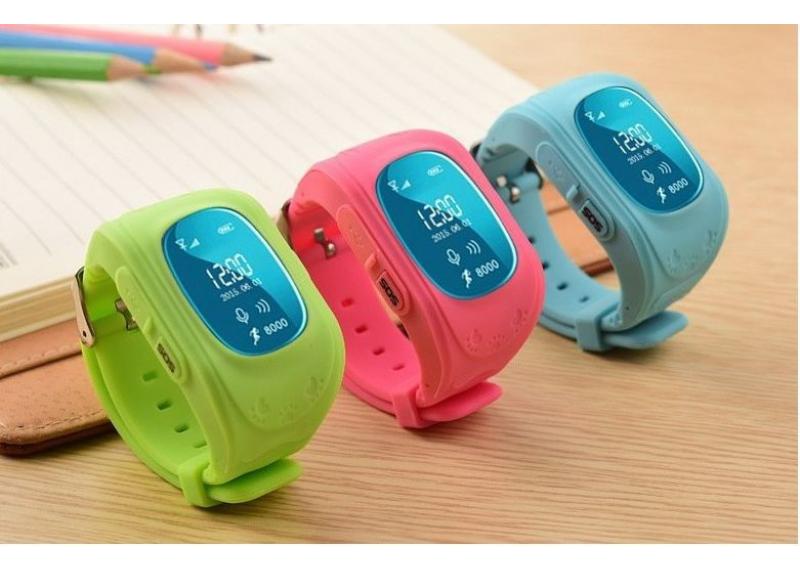 Детские часы SmartWotch GPS tracking Q50