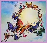 Набор для вышивания бисером Танец бабочек