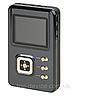 HiFiMAN HM-602 Slim High Performance Portable Audio Player - 8GB