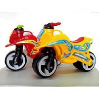 Каталка Мотоцикл Киндервей с ручкой для переноски 66х28х48 см