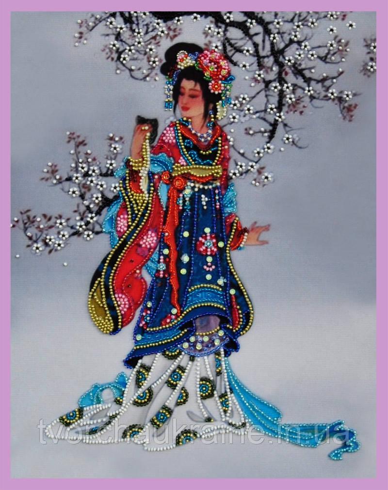 Набор для вышивания бисером Восточная красавица - 2