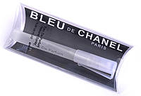 Мужские туалетные Духи 8 мл Chanel Bleu de Chanel (Шанель Блю дэ Шанель)-фужерный древесный аромат RHA /9